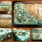 cutie bijuterii mixed media 1
