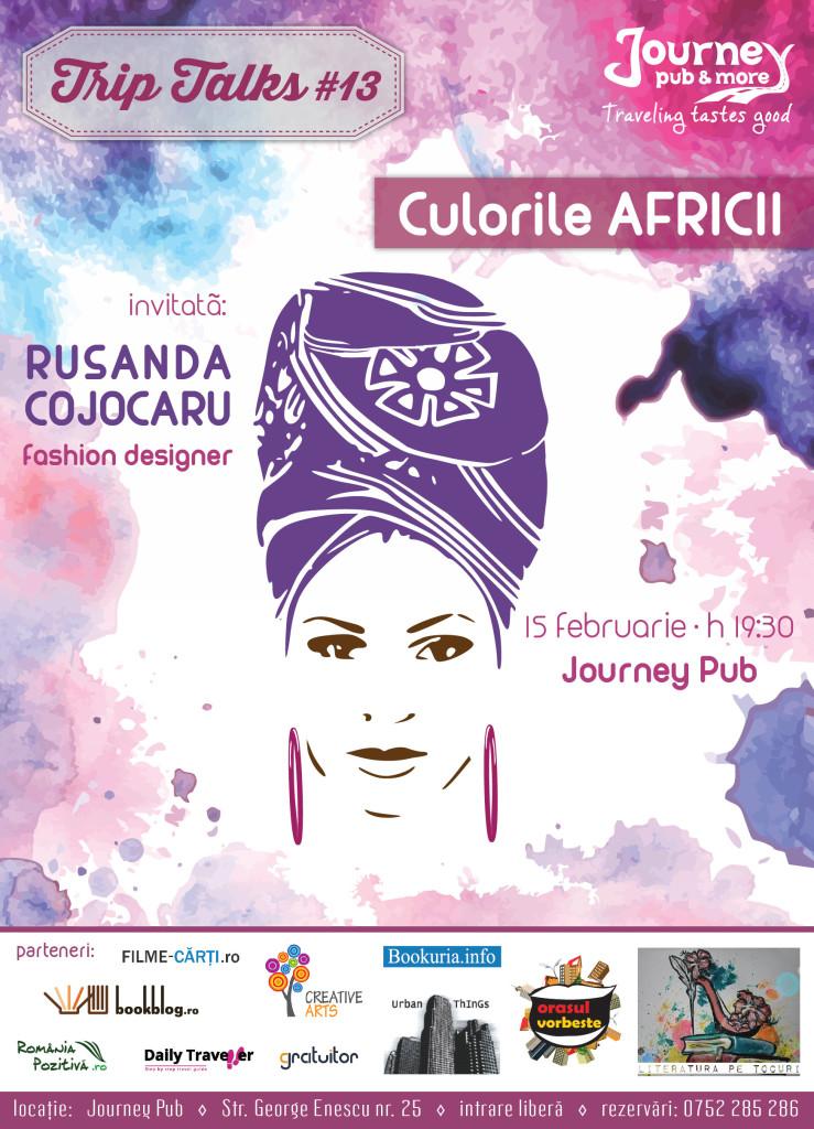 trip talks cu rusandra cojocaru la journey pub