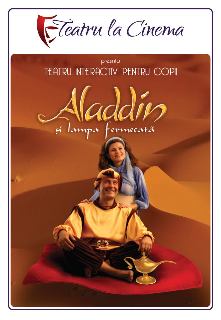 teatru pentru copii la cinema aladdin