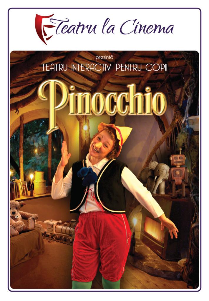 teatru pentru copii la cinema pinocchio